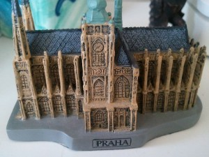 St. Vitus Cathedral Model Macro Shot