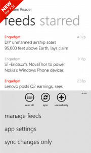 NextGen Reader for Windows Phone