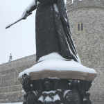 Snow Covered Queen Victoria
