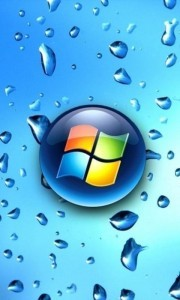 Windows Phone Water Droplets