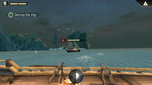 Battle sequence in AC Pirates for Windows Phone