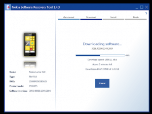 Nokia Software Recovery Tool for Nokia Lumia Firmware Restore