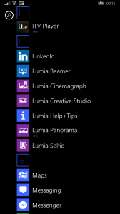 Lumia Apps on Windows Phone