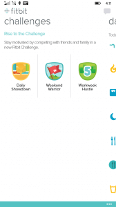 Fitbit for Windows Phone Challenges