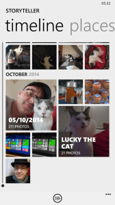 Lumia Storyteller App for Windows Phone