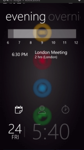 Tetra Lockscreen Agenda View