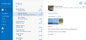 Mail for Windows 8.1