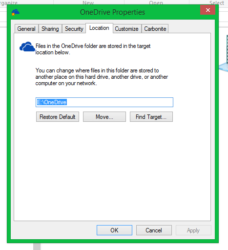 How To Move Your OneDrive Folder to an External Disk – ClintonFitch com