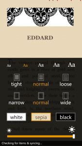 Customizing the Kindle App Reader Experience