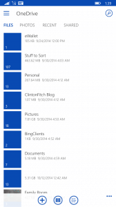 OneDrive for Windows Phone