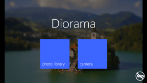 Diorama for Windows Phone