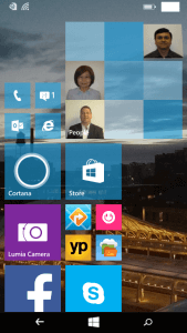 Double Sized Square Live Tile in Windows 10 for Phones