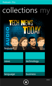 Podcast+ Pro for Windows Phone