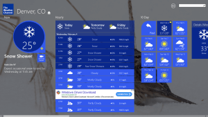 The Weather Channel for Windows