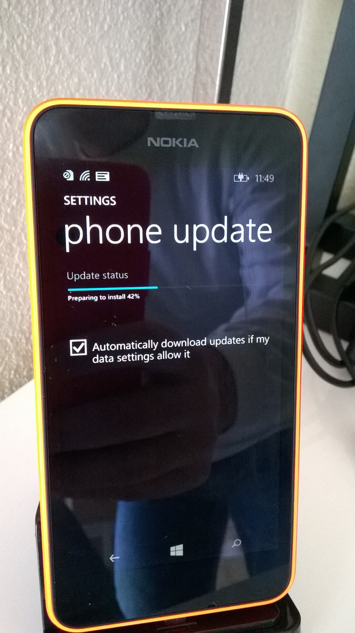 Upgrading to Windows 10 for Phones
