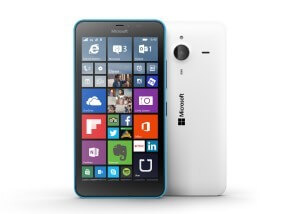 Lumia 640XL Front and Back White