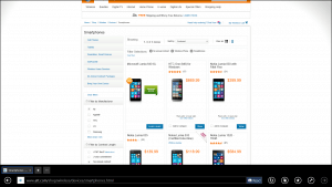 Lumia 640XL on AT&T Website