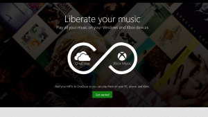 Xbox Music Locker on OneDrive