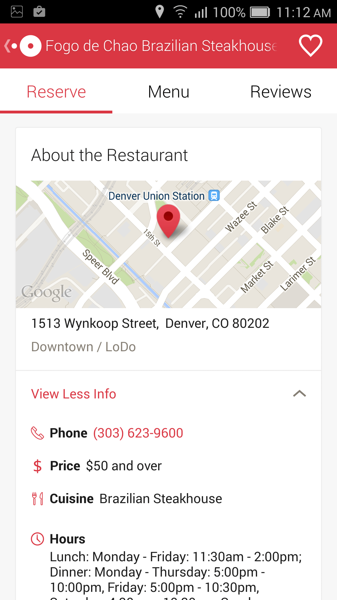 OpenTable For Android Updated With Improved Google Maps Integration - Google open table
