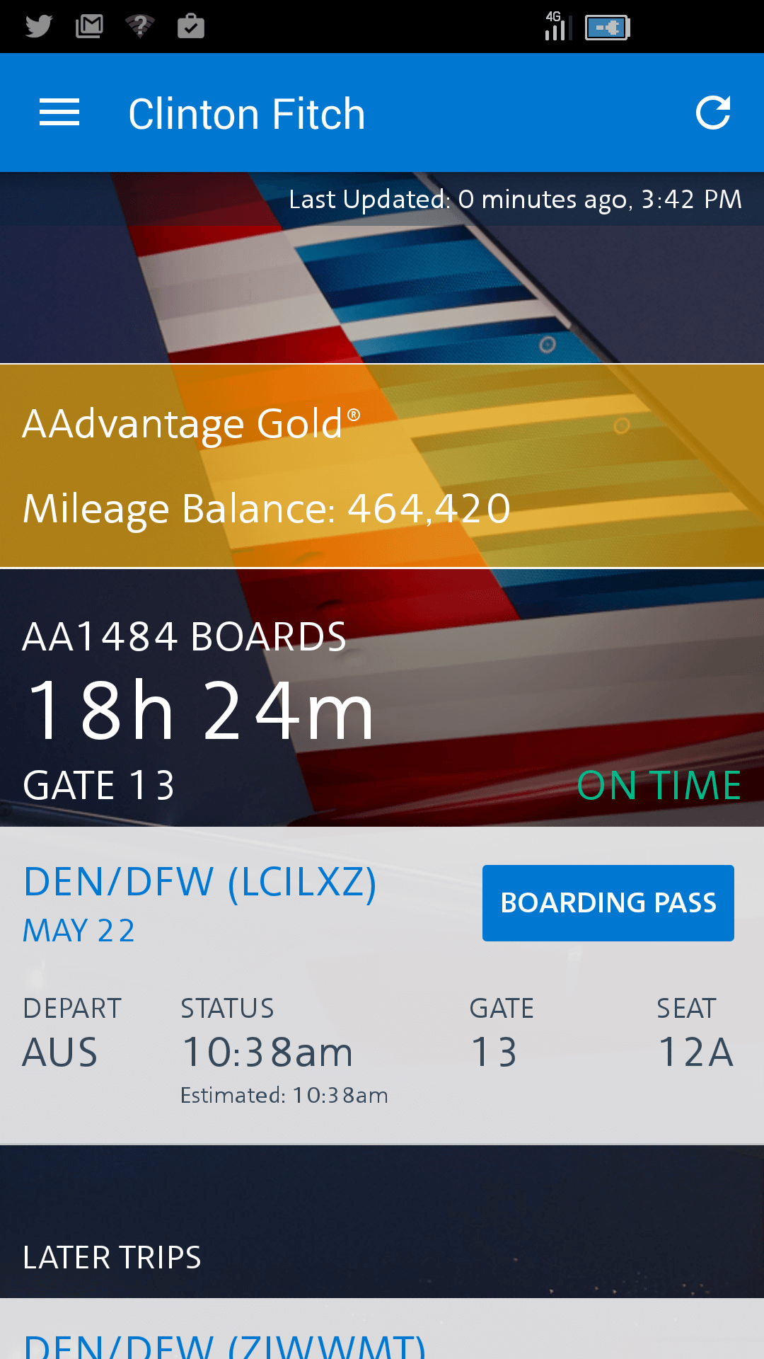 American Airlines App For Android Update Brings Android