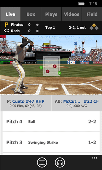 MLB At Bat for Windows Phone