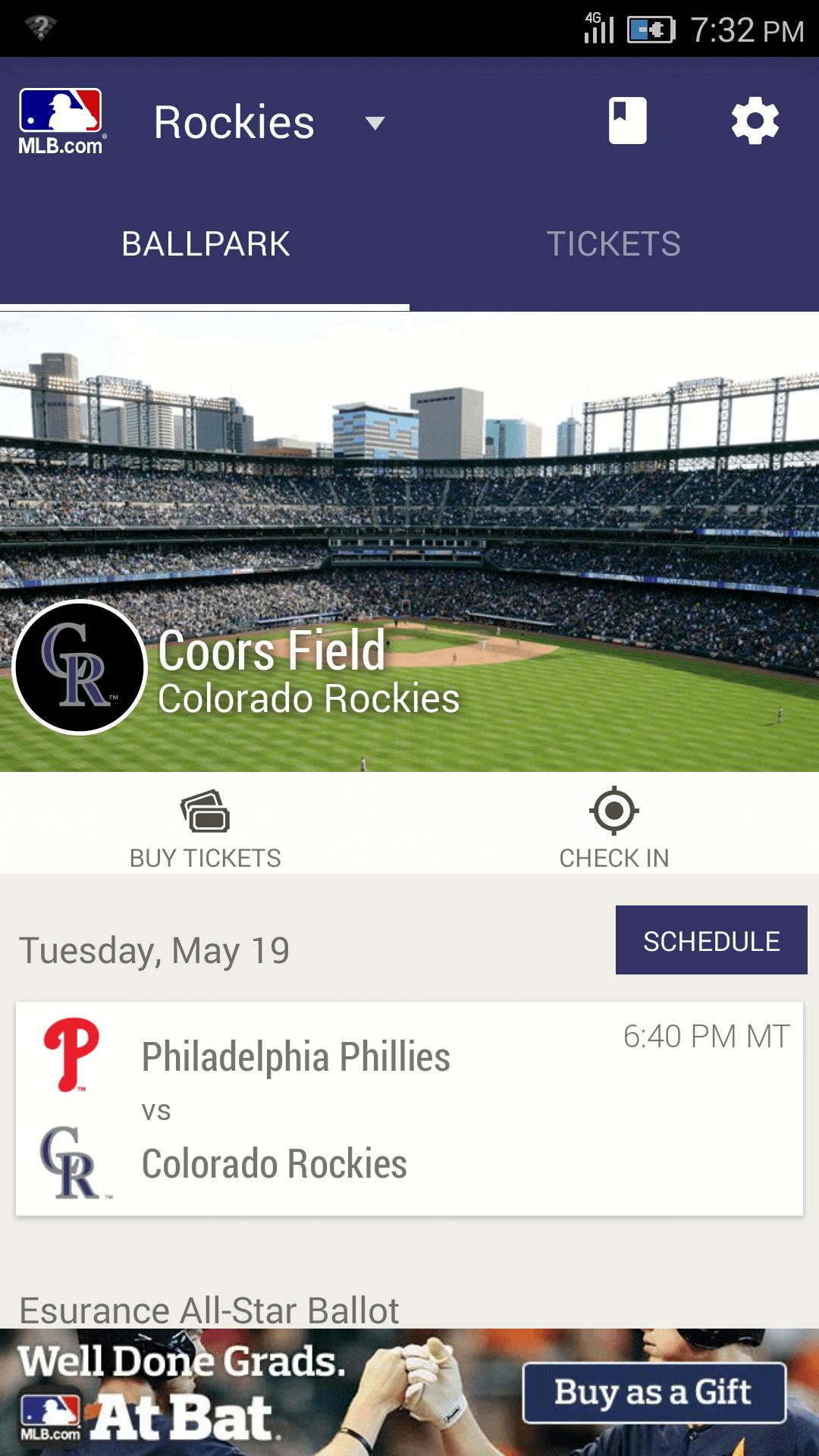MLB Ballpark for Android