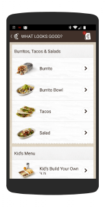 Chipotle App for Android