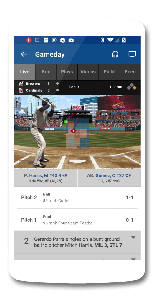 MLB At Bat Update Brings Material Design Updates ...