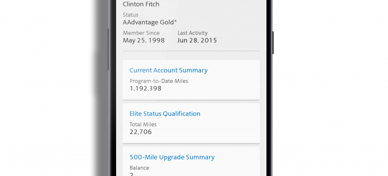 American Airlines app for Android