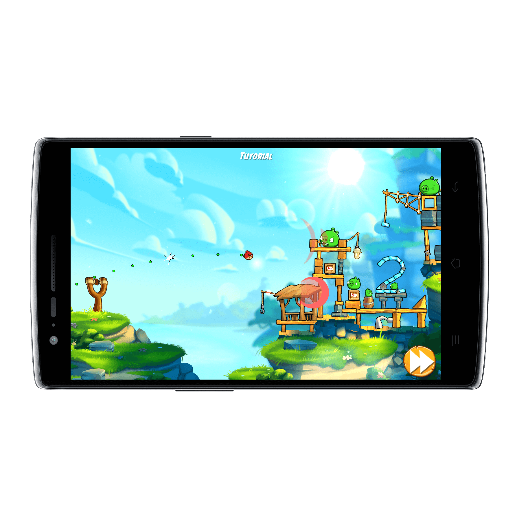 Angry Birds on Android - HTC Flyer Tablet - YouTube