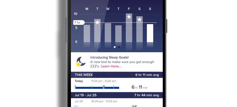 Fitbit for Android Sleep Goals