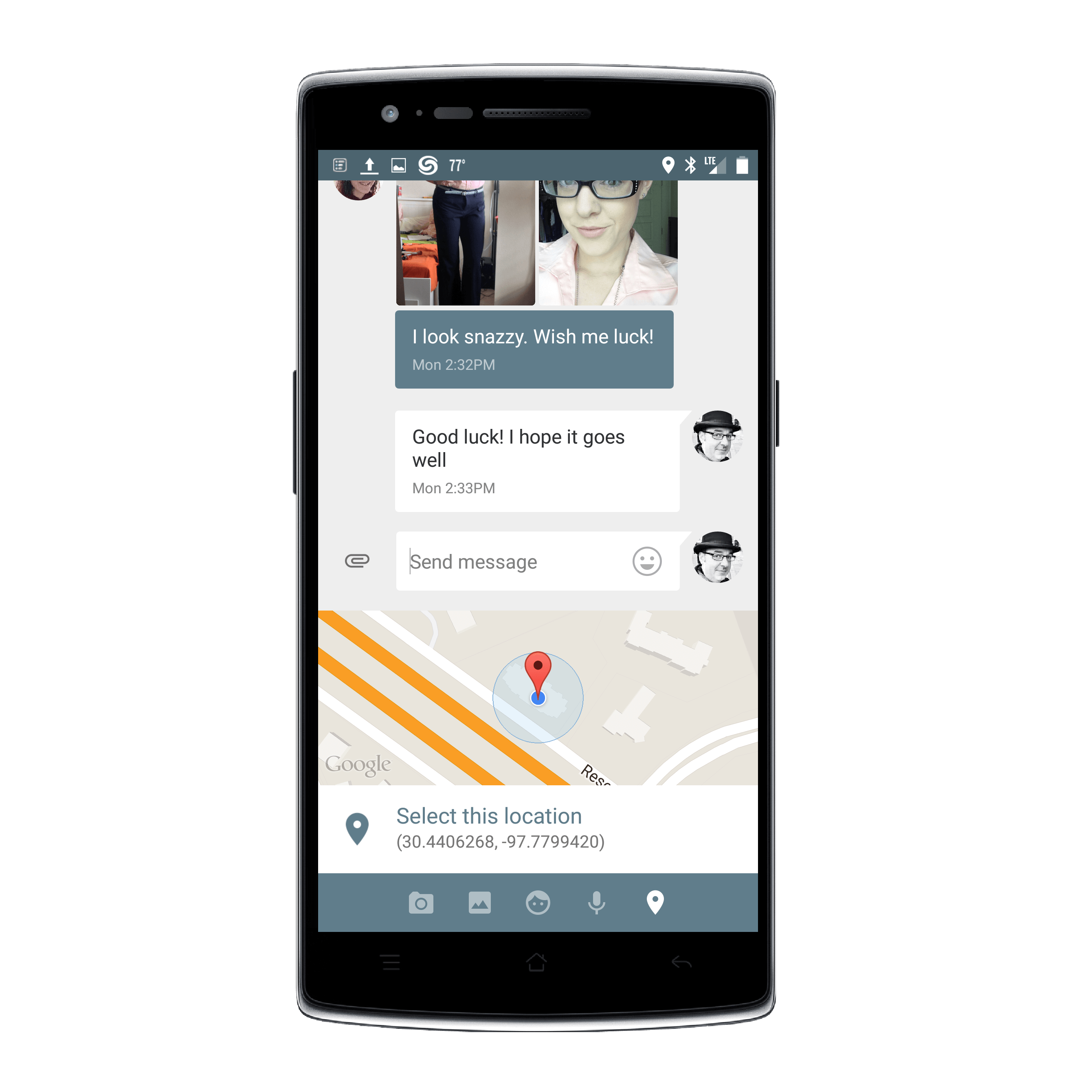 Google Messenger for Android