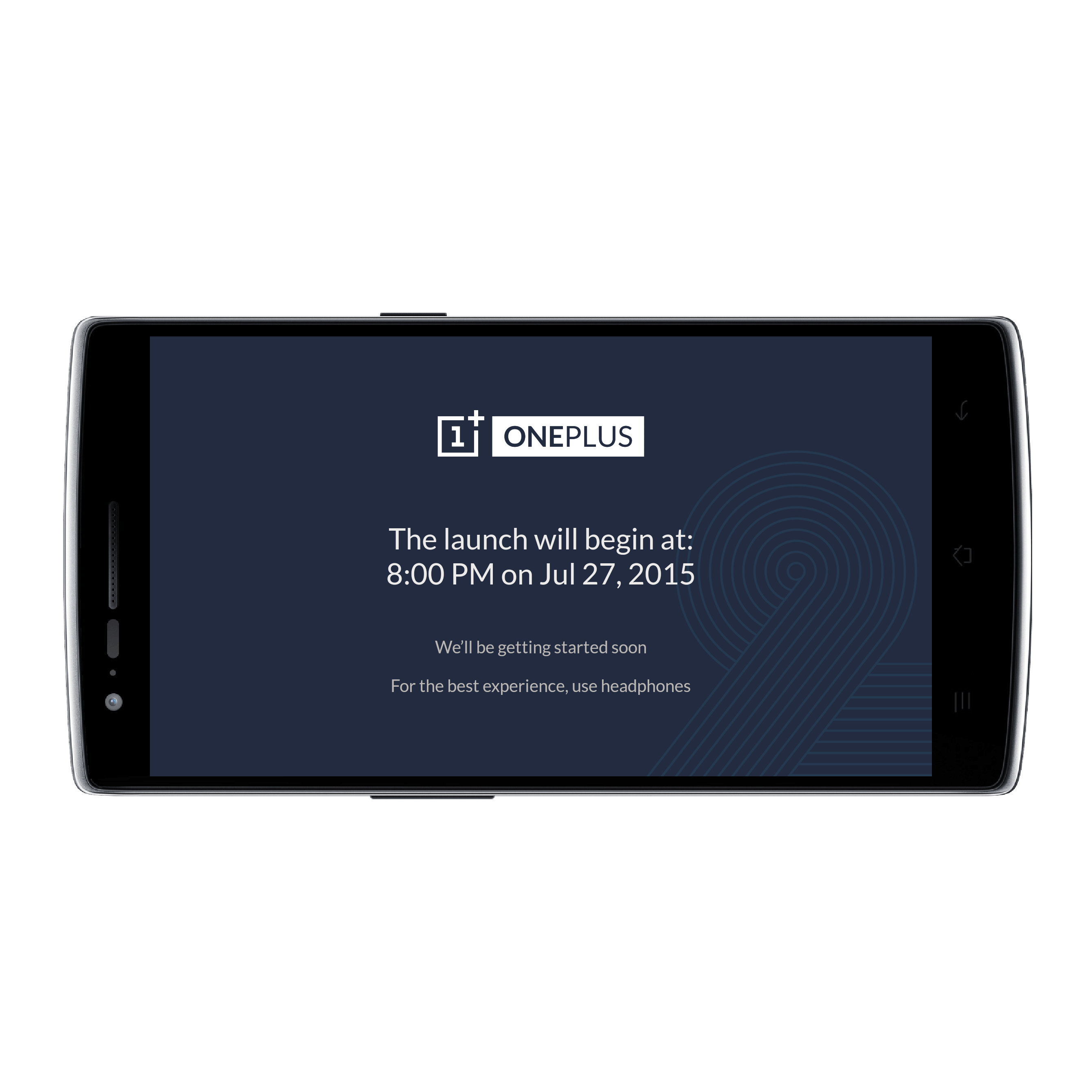 OnePlus 2 Launch App