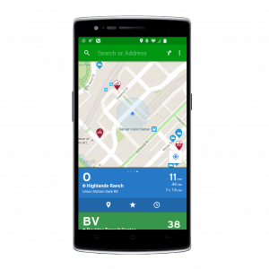 Transit app for Android