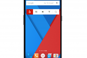 Yelp for Android Home Screen Widget