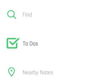 Evernote on Android Wear