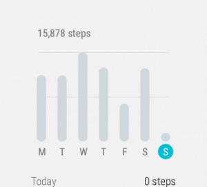 Historical Data for Google Fit in Wear