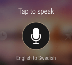 Microsoft Translator for Android Wear