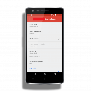 Notifications in Gmail for Android