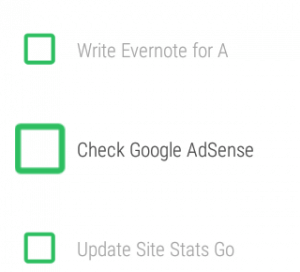 To Dos in Evernote for Andrroid Wear