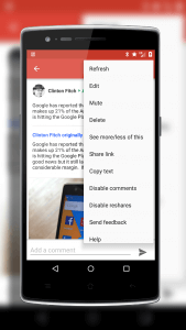 Google+ Link Sharing