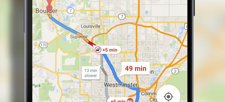 Google Maps New Navigation