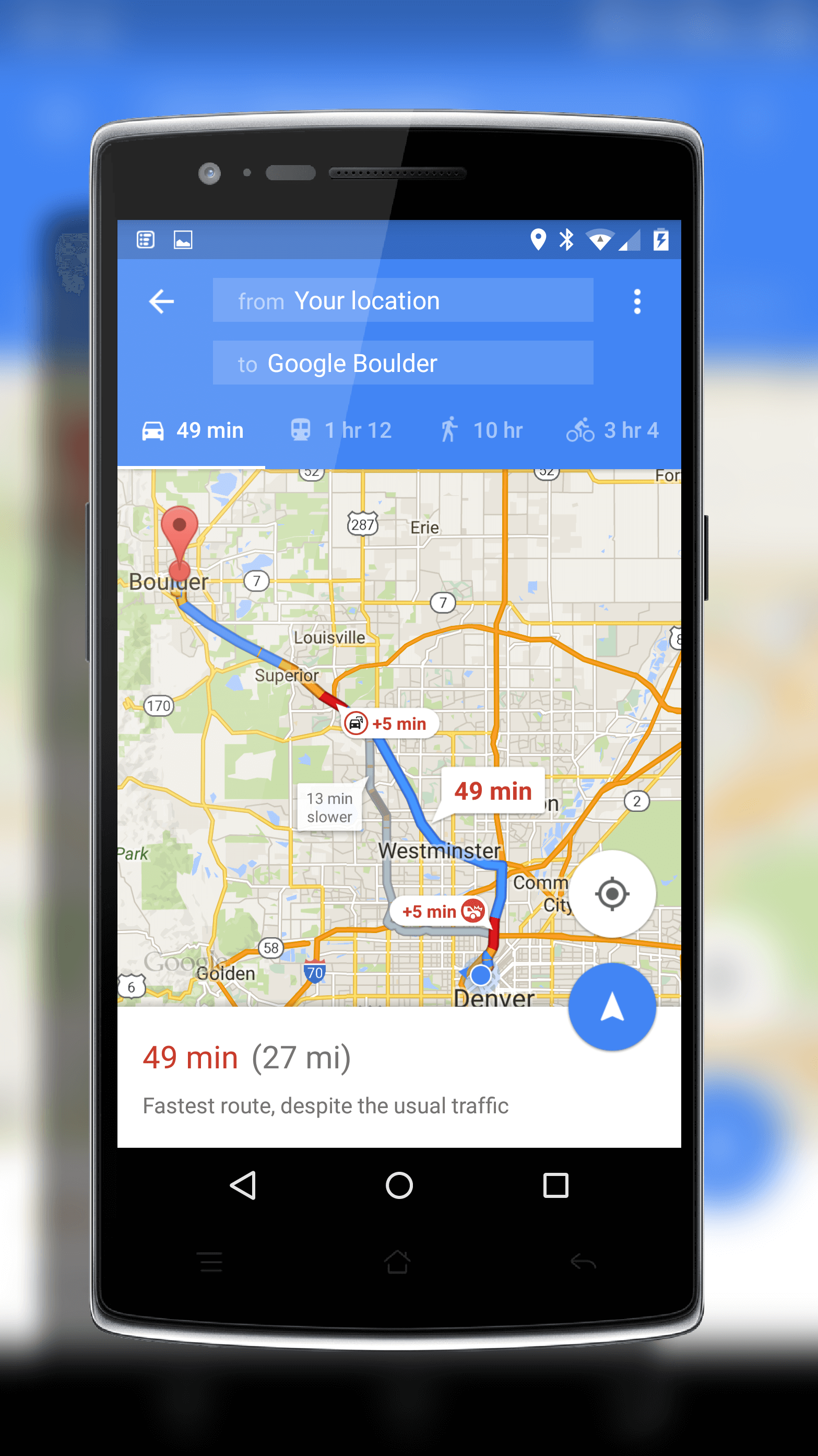 google maps update bringing improved navigation. Black Bedroom Furniture Sets. Home Design Ideas