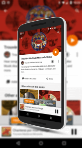 Google Play Store Music for Android