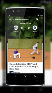 Google Play Newsstand Sports