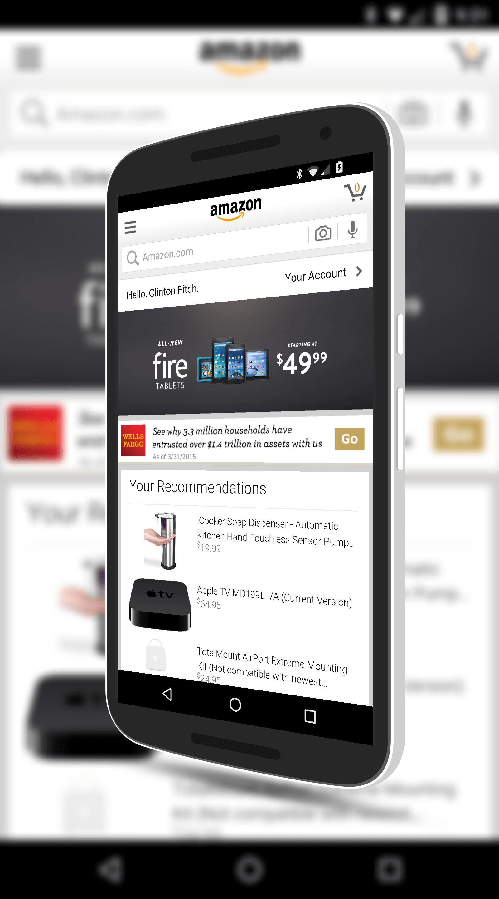 Amazon Shopping App Updated With Voice Commands