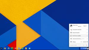 Chromecast Option in Chromebook Settings