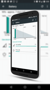 Doze Battery Savings in Android Mashmallow