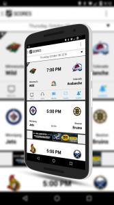 NHL For Android Matchup