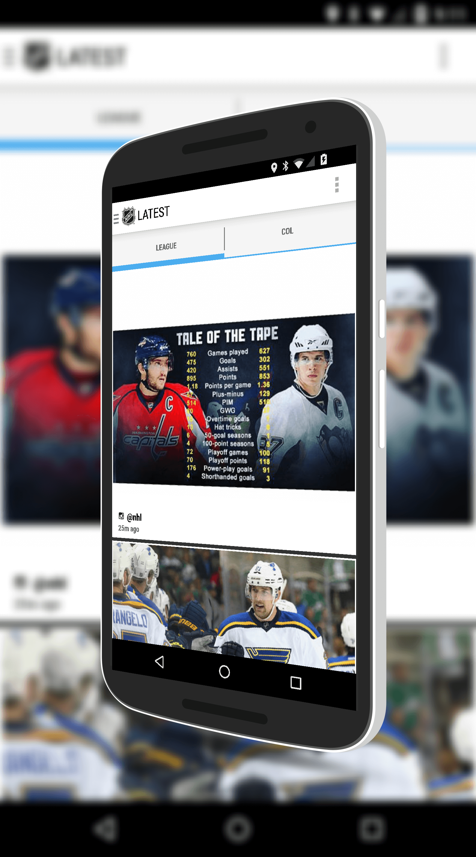 NHL for Android News